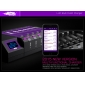 Wholesale Efest LUC OLED Blu6 Bluetooth 6 bay charger