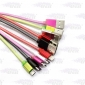 Wholesale Colorful USB charging cable for samsung/iPhone 1010mm