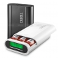 Wholesale TOMO V8-3 18650 Power Bank, Double Output and LCD display