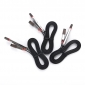 Wholesale Two in One dual port usb charger cable 2 in 1 multi use for USB-V8&TYPE-C(red)