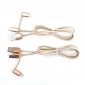 Wholesale 2 in 1 cable Micro USB data transfer charging for USB V8&USB I6